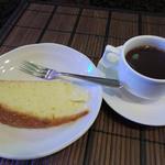 創作料理 花しば - ランチにはケーキとコーヒーまで!