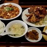 24235330 - 麻婆豆腐定食 980円