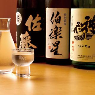 利酒師がいるお店です!種類豊富な日本酒をご堪能くださいませ。