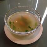 cafe despacio - セットスープ
