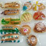 オクムラベーカリー - 料理写真:≪昔ながらの菓子パン≫お客様には「懐かしいね」とご好評頂いております!一度ご賞味あれ♪