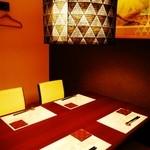 JAPANESE  DINING 無花果 - 静かにお食事を楽しめる空間です。