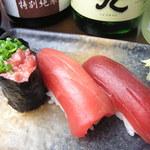 JAPANESE  DINING 無花果 - 本格的なお寿司も人気。盛り合わせもあります。