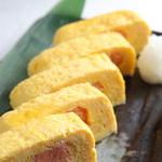 JAPANESE  DINING 無花果 - 玉子焼き(たらこ)500円(税抜)、野沢菜やエビマヨもgood