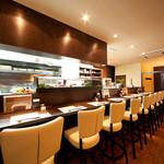JAPANESE  DINING 無花果 - お一人様でも会話を楽しみながらお食事出来ます。