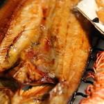 JAPANESE  DINING 無花果 - ほっけの開き 900円(税抜) 道産でジューシー