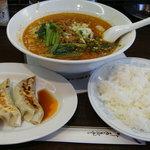 Toyosuramen - 091012坦々麺+Aセット