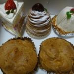 マリス - 料理写真:ケーキたち