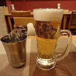 プジャ - セットのビール