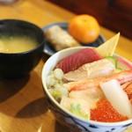 大山屋 - 料理写真:ランチ ちらし丼セット☆