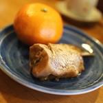 大山屋 - 魚の煮付け&蜜柑☆