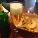 カフェ+ブーランジェリー ドッポ - ビール500円