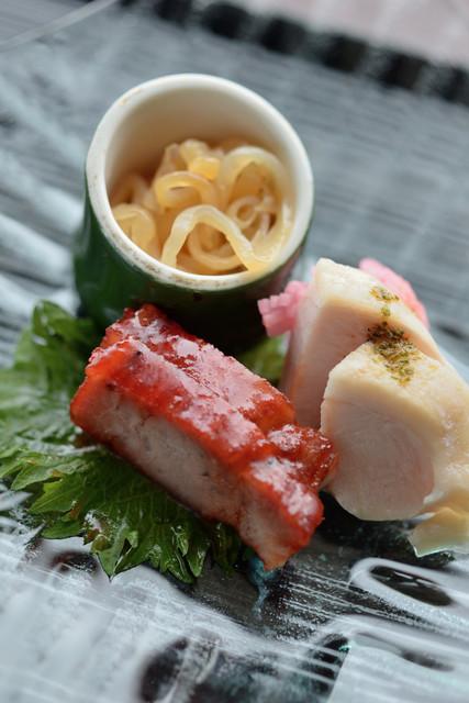 中国料理 カリュウ - 富貴三彩盆(ぜんさいみくさ)