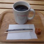 アメイズコーヒーハウス - ホットコーヒー(M)(390円){コロンビア}