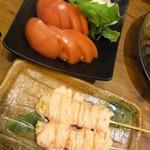 鳥三郎 - トマトはさっぱりですね