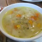 カフェむぎわらい - スープ
