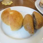 カフェむぎわらい - 甘いプチパン