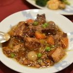 中国四川料理 桃花源 - 豚肉のわやらか醤油煮込み