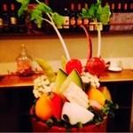 オレンチ - お付だしの鉢盛りお野菜! (2人前)