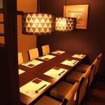 JAPANESE  DINING 無花果 - 8名様までご利用出来る完全個室