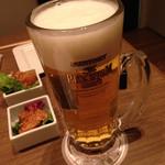 KICHIRI - 生ビール サントリープレモル609円