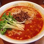 翠香 - 坦々麺大盛750円