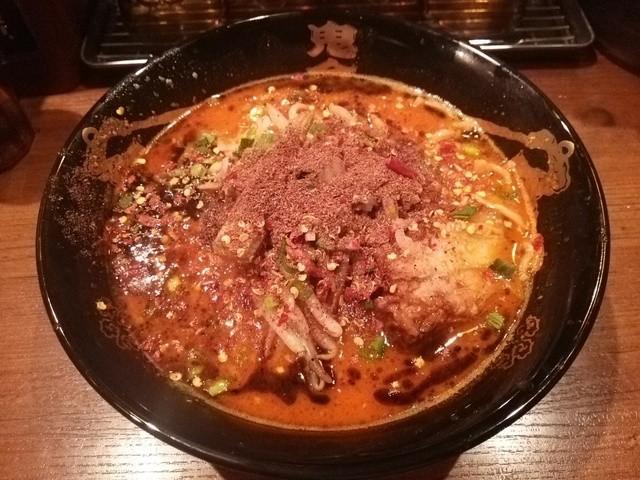 カラシビ味噌らー麺 鬼金棒 - この店最狂のカラシビ味噌らー麺、シビ鬼増し、シビ鬼増し