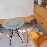 イタリアンジェラート CIAO - テーブル席