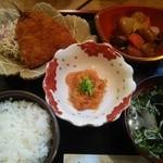 優辰 - 日替り(アジフライ、煮物等)
