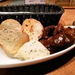魚deバール ウオチカ。 - 牛肉のワイン煮込み