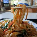 なーはー屋 - 本島北部ならではの平打麺