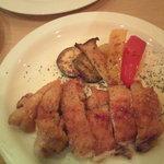 ラス ブラバス - 地鶏のグリル白トリュフ塩風味