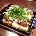 旨めぇもん屋 きゅう - 豆腐ステーキ魚粉ソース