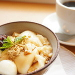 Cafe Lychee - 豆乳で作った自家製プリン