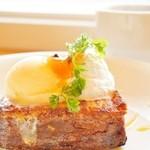 Cafe Lychee - カフェライチ一押しスイーツ!極上のカステラを使用したフレンチトースト