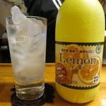 三吉橋フライ屋 - レモンサワー300円