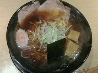 あるますーぷ - あるまブラック醤油大盛700円(26年2月)