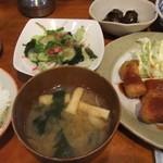 まま屋 - 2013/10/11 秋なんだけど定食【全5品】の左半分