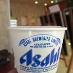蕎麦処 あらたえ - 生ビール