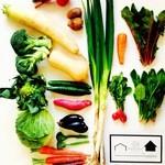ハナファームキッチン - その他写真:店頭販売野菜もあります。