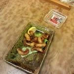 竹泉 - タコ唐揚げ ¥500 (思わず食べちゃいました)