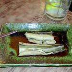 竹泉 - 本日のおすすめ:アナゴ(ホロホロで旨い)