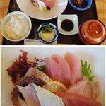 五郎田 - 刺身御前。五郎田〈和風れすとらん〉(愛知県西尾市)食彩賓館撮影