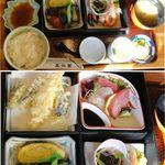五郎田 - 松花堂弁当。五郎田〈和風れすとらん〉(愛知県西尾市)食彩賓館撮影
