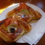 ラ・パレット - 料理写真:フルーツデニッシュ!