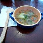 璃羅の音づれ - スープ