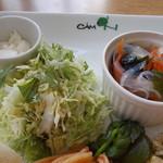 Kamuon - CAM ON ランチ 野菜、はるさめスープ