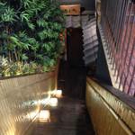 越後屋 三太夫 - 地下に降りる階段