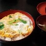 吟なべ - 煮かつ丼 700円