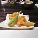 和食厨房 ゆず - 白子天ぷら
